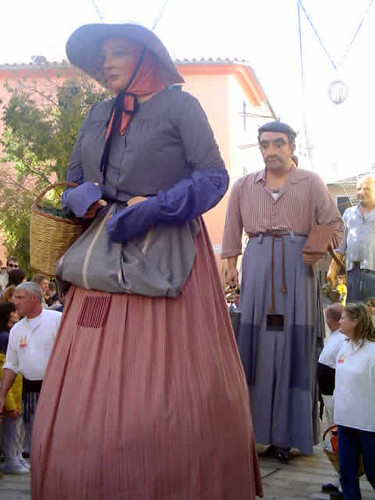 gegants del Ayuntamiento de Campos