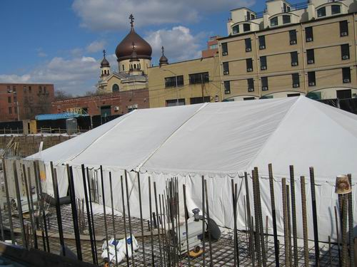 Roebling Party Tent