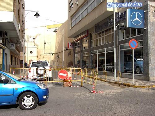 calles cortadas