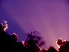 Purple sky background (Brian A Petersen) Tags: sunset sky cloud sun nature la media worship ray purple background brian bp powerpoint ppt shout petersen mediashout bpbp brianpetersen brianapetersen