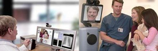 Imágenes del médico virtual.