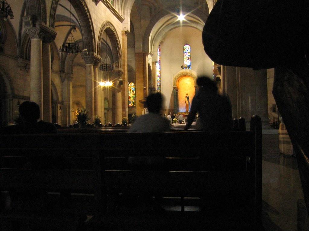 Interior, St. Agustin Church