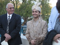 The groom, Tanuj. (01/19/07)