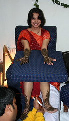 Mehendi for the bride