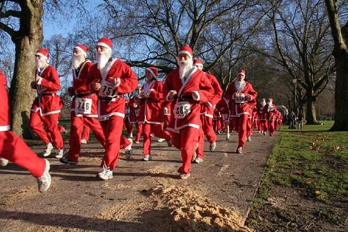 london santa run