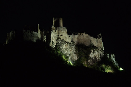 Spiš Castle at night, 19.08.2008.