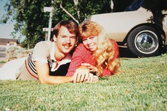 First Photo of Janet and Me - over 20 years ago... (Robert M. Hoge (AKA - Lasre)) Tags: love me grass janet roberthoge coolestphotographers robertmhoge
