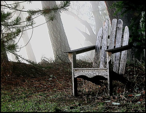 Chair in Fog