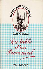 Gedda table d'un provençal