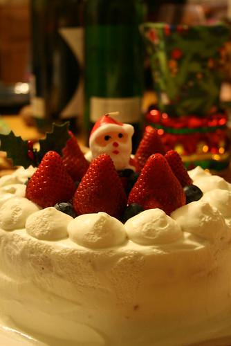 クリスマスケーキbyゆっこちゃん