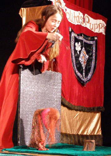 Keeping in theme with the Medieval Faire, the performance was Goldilocks and ...