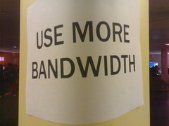 Use more bandwidth