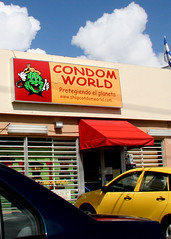 PR condom world