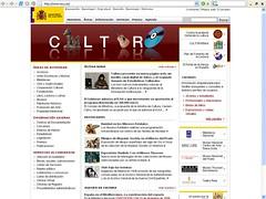 nueva web ministerio de cultura