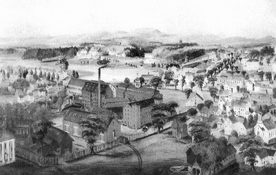 The Saxonville Mills ca 1859.