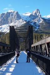 Engine Bridge - Canmore (altamons) Tags: bridge blue winter white mountain snow canada mountains ice landscape kananaskis rockies interestingness cool interesting rocky scout canadian explore alberta rockymountains mountainview canmore winterland bowriver mountrundle rundle kananaskiscountry canadianrockies bowvalley blueribbonwinner kcountry scouted explored abigfave altamons travelerphotos