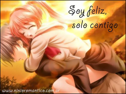 Soy feliz, solo contigo