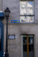 Space Invaders @ Rue Lepic