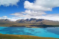 Lake Tekapo (JarvisKP) Tags: blue newzealand lake southisland tekapo rockflour