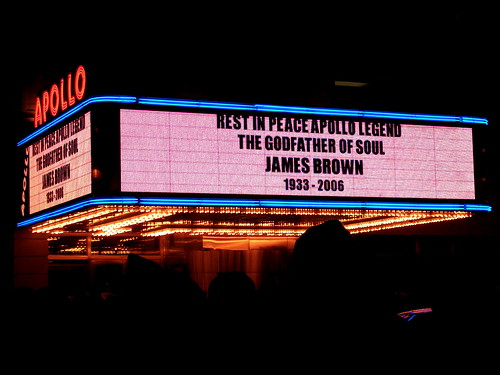 james brown's wake