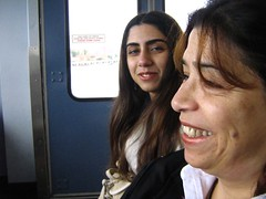 "sahba and mom on seabus • <a style=""font-size:0.8em;"" href=""http://www.flickr.com/photos/70272381@N00/345004152/"" target=""_blank"">View on Flickr</a>"