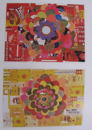 beatriz milhazes candy wrapper collage