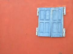mexican shutters (.scarlet.) Tags: blue orange color mexico colorful shutters portfolio picnik caribbeancruise lifeincolor andreadesignscom andreahuysing