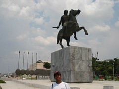 Statue Alexander the Great, Thessaloniki, Greece