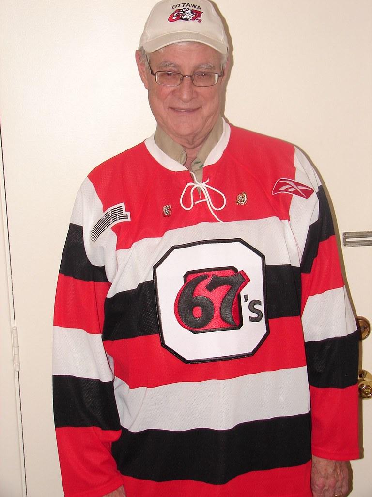 My Ottawa 67's Jr Hockey Sweater