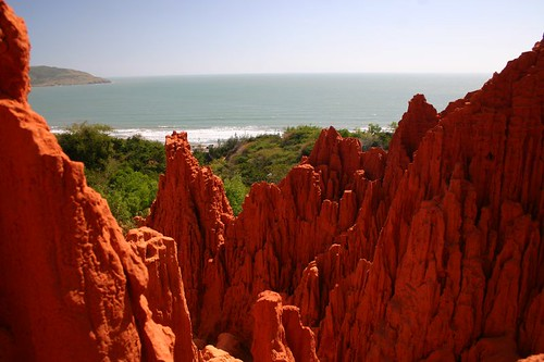 The Red Canyon near Mui Ne.