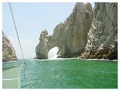 The arch, (el arco), Cabo San Lucas (FrogMiller) Tags: ocean trip travel sea party vacation water sailboat mexico fun cabo sailing tour bajacalifornia waters baja cabosanlucas thearch loscabos elarco
