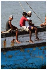 On board 1 (Gurugo) Tags: wood india water lafotodelasemana boat barco fishermen goa embrace pesca madeira fishin panjim mandovi pescadores lfsneruda