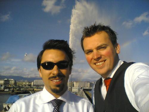 Philippe & Monty in Geneva