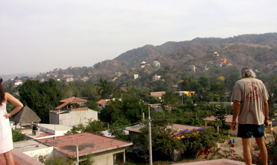 Rooftop view of La Manzilla