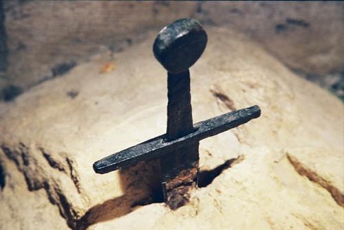 la spada nella roccia - San Galgano