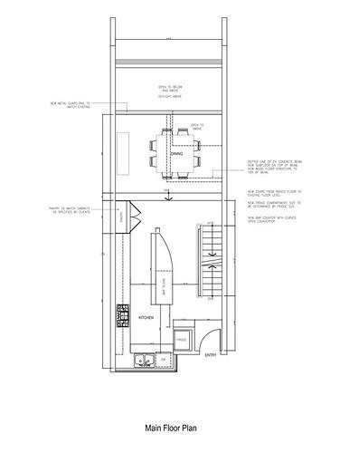 floor plan - original layout