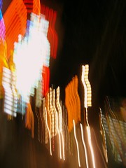 ascension (overthemoon) Tags: lights switzerland arty shoppingcentre toss tossing vevey nocturnes stantoine bfv1