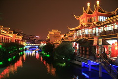 The Night of Qinghuai River, Nanjing (YY) Tags: china history architecture lights lowlight nightlights culture rivers prc nanjing   twtmesh130809