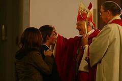 Firmung durch Weihbischof Manfred Melzer