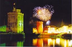 Bastille Day, La Rochelle, France (exemplaryphotos) Tags: france colour castle wow reflections europe nightshot fireworks larochelle allrightsreserved exemplaryshots exemplaryphotos onlythebestare imagescopyrightjasonrainsford