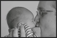 Proud te be your daddy (buteijn) Tags: boy portrait baby proud daddy 50mm nikon dad d70s newborn portret henri stijn 3days anawesomeshot