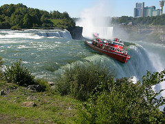 Boat going over Niagara Falls by ***Bud***