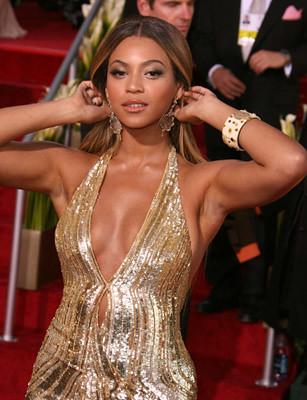Beyonce en la alfombra roja