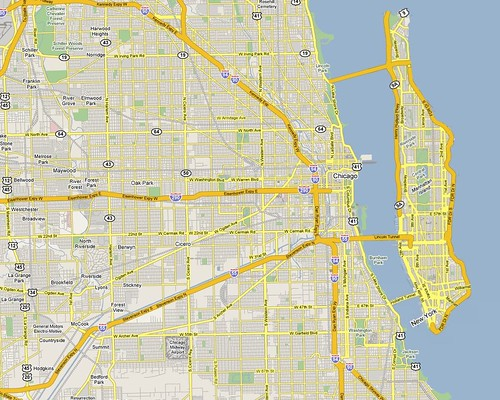 Manhattan on Vacation - Chicago, Illinois