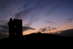 Crohy Tower Crohy Maghery Dungloe (conal houston) Tags: from ireland sunset tower castle abandoned dusk mary ruin signal lloyds donegal dungloe martello rosses cleendra maghery falmore termon