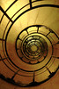 Spiral stairs Arc de Triomphe