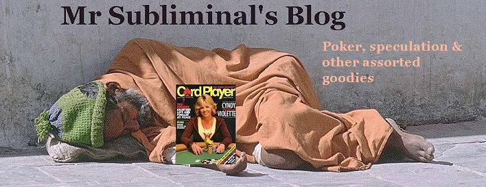 Mr Subliminal's Blog