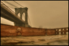 2052 Awaits (Darny) Tags: nyc newyorkcity bridge newyork dumbo disaster brooklynbridge hdr 2037 webcity nycbridges wherearemyzombies darny