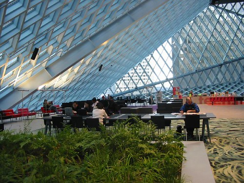Seattle Public Library (Image Credit: flickr)