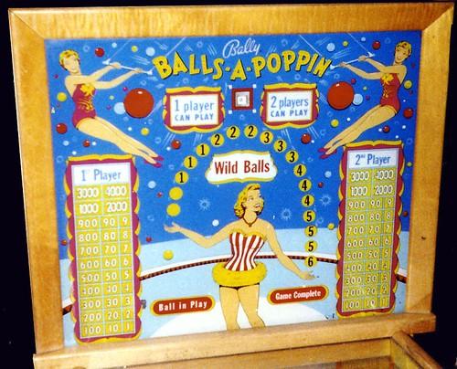 balls-a-poppin backglass